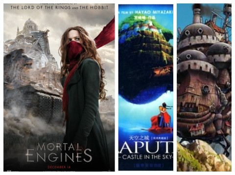 Mortal-Engines-Laputa-Howls-Moving-Castle
