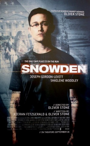 Snowden / The World I Live In (2) 11.12.16