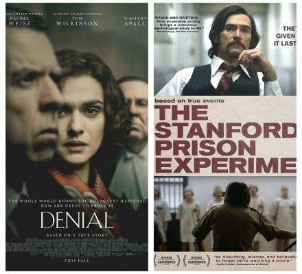 My Week in Netflix: Denial and The Stanford Prison Experiment